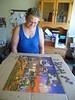 Cathy & puzzle 6 14 21