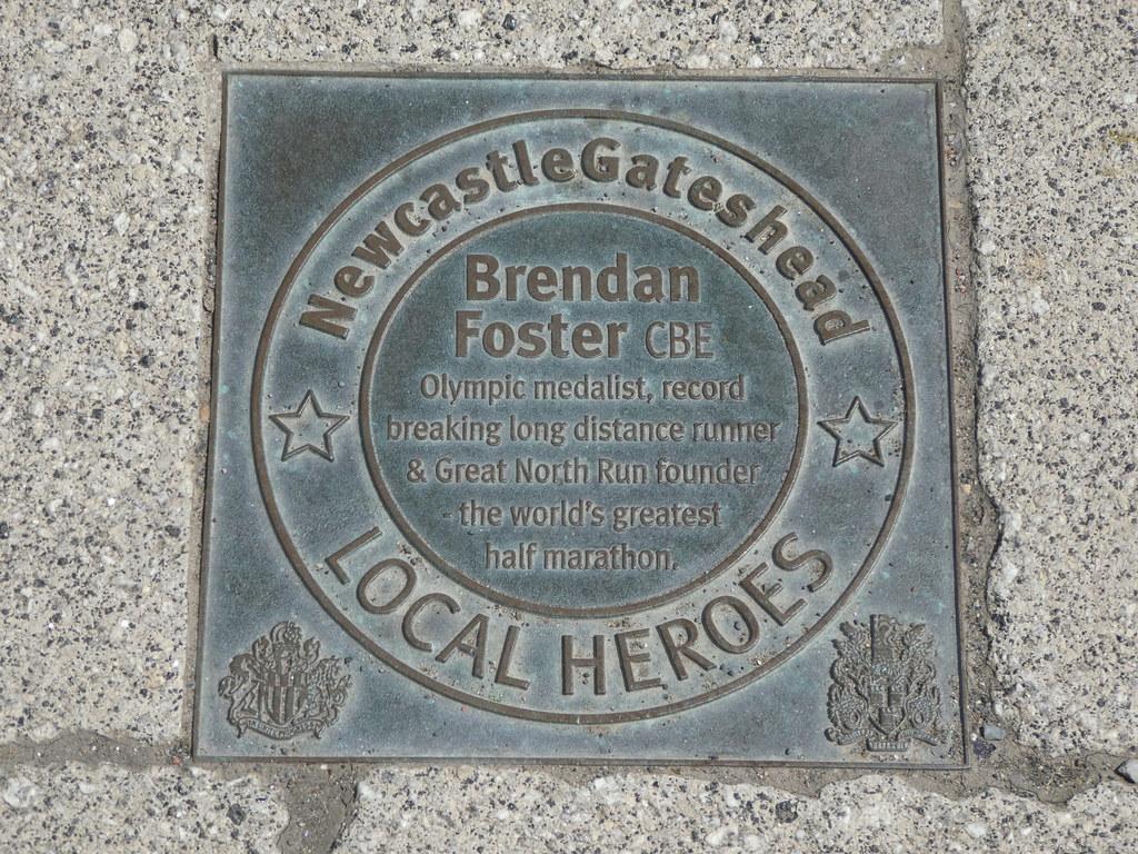 Local Heroes Plaques Gateshead
