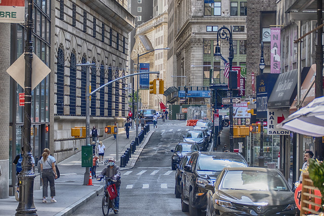 Wall Street Area