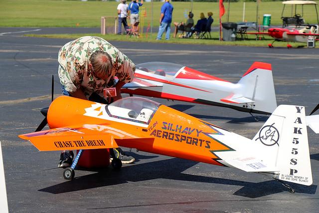 Nats 2021: RC Scale Aerobatics