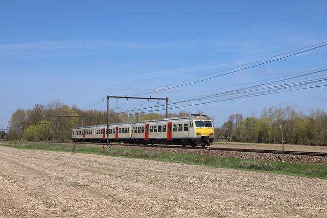 NMBS 366 - bij Tildonk - 22/04/2021.