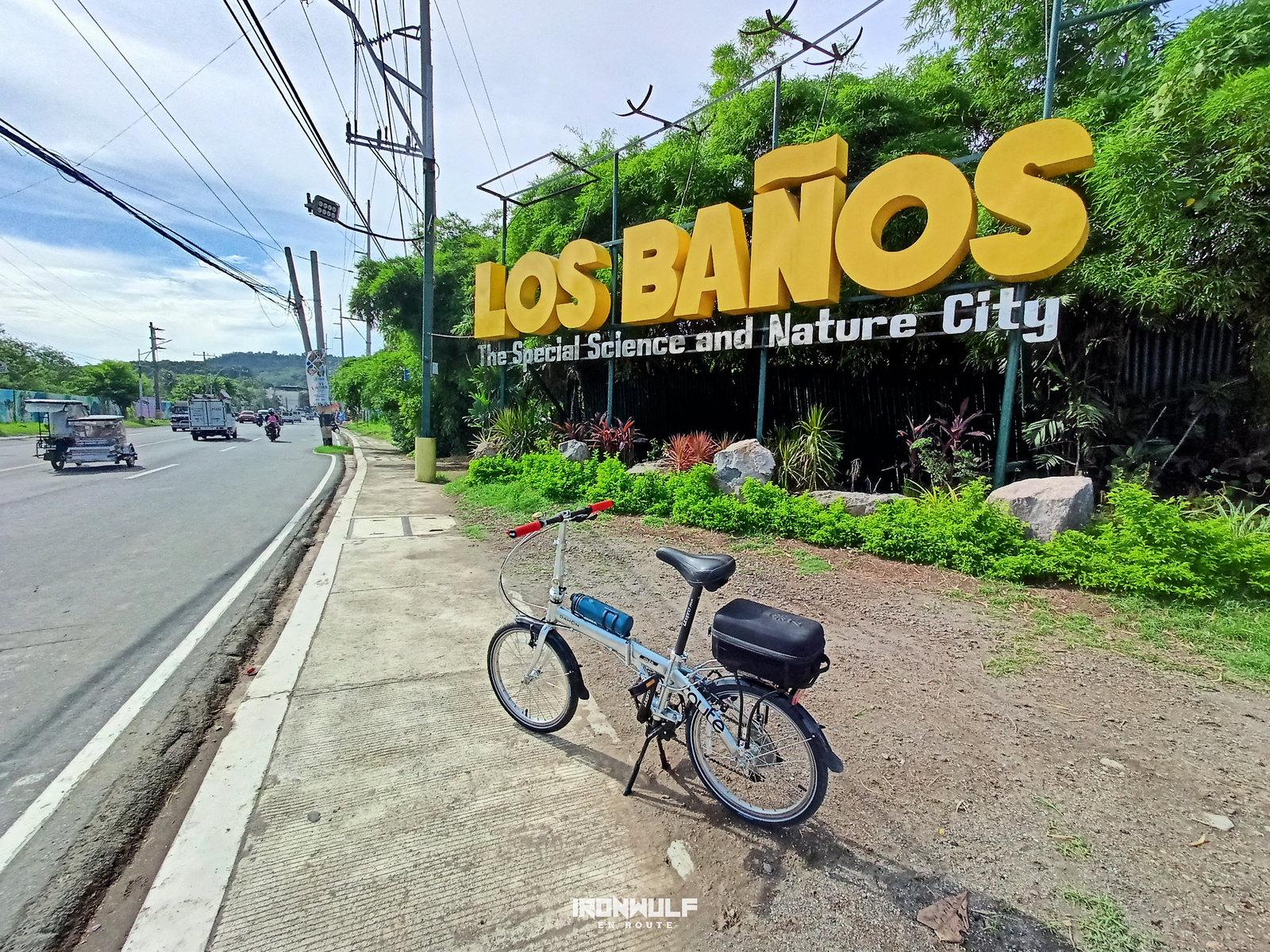 Cycling all the way to Los Baños, Laguna