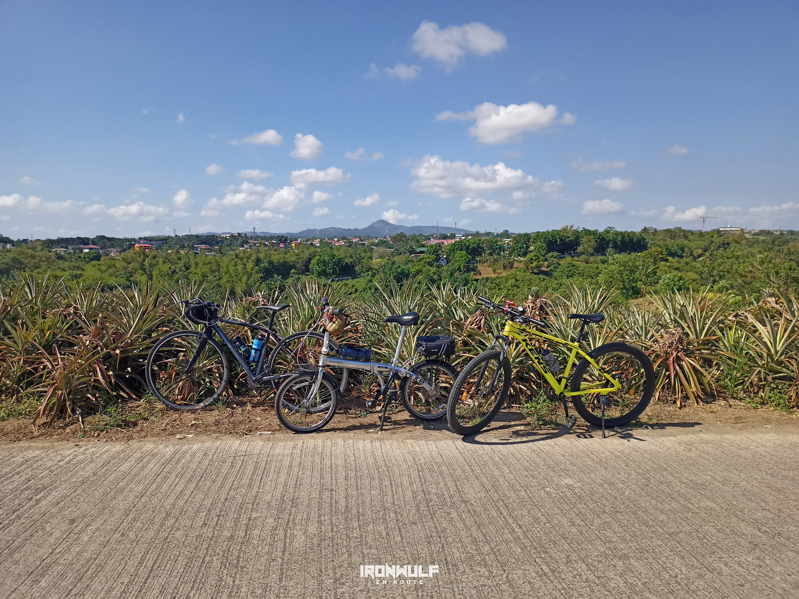 Riding with friends at Silang, Cavite