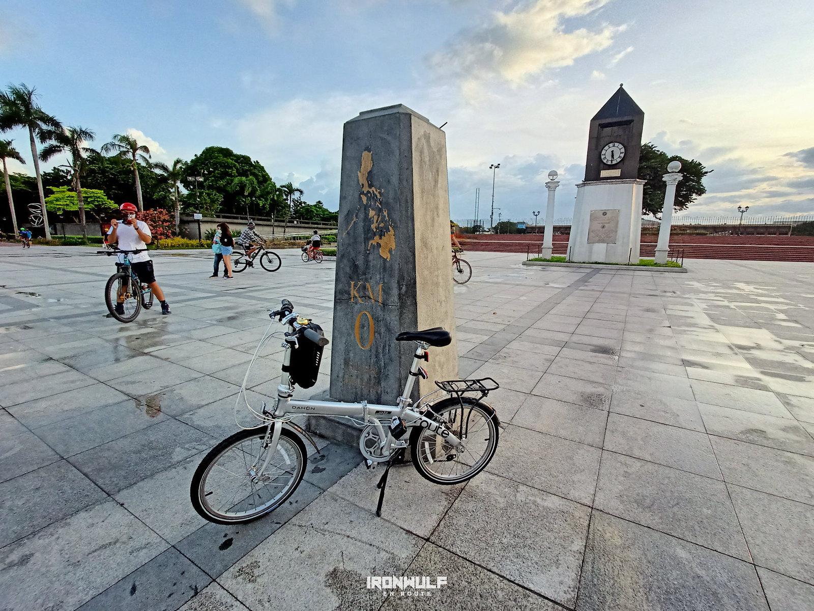 At Manila, 0km marker