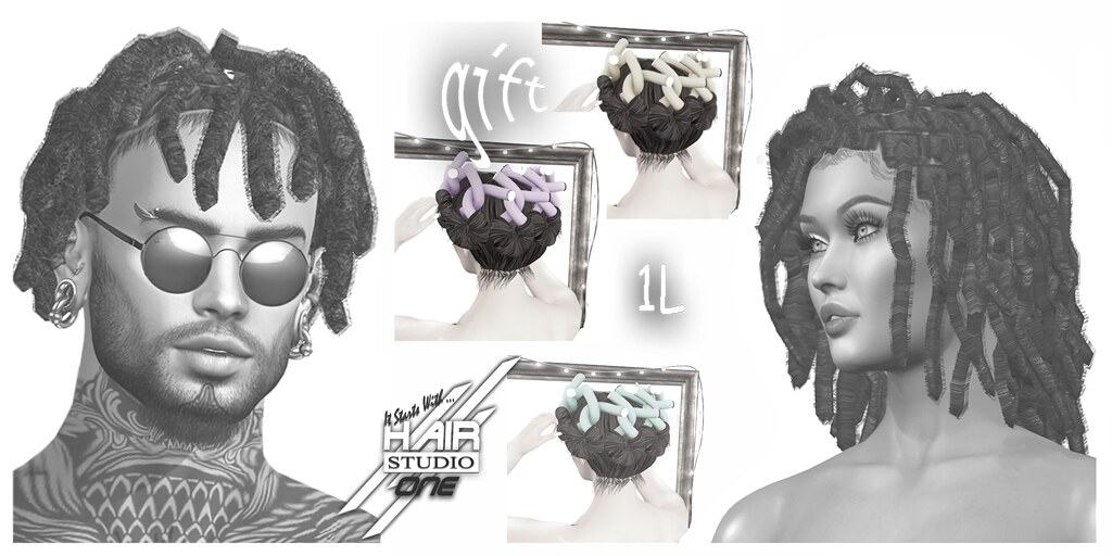 Part 2 Collage ONE-Creations hf 2021 Hairstyles