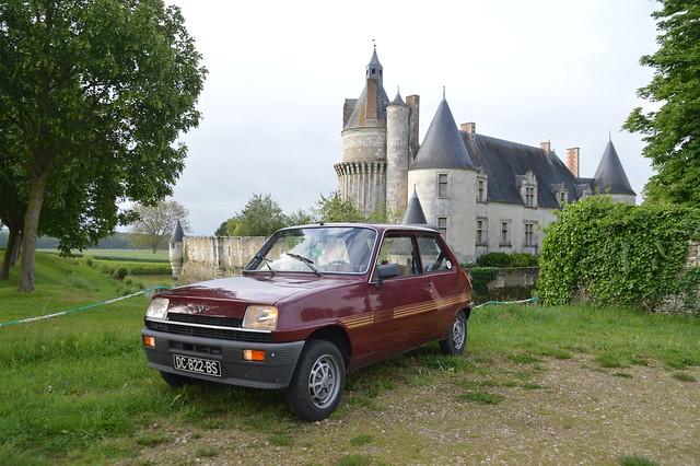 1982 Renault 5 Campus DC-822-BS - 26 mai 2021 (Château de Coussay)