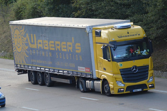 WABERERS - MWW 109 - ACTROS 1845