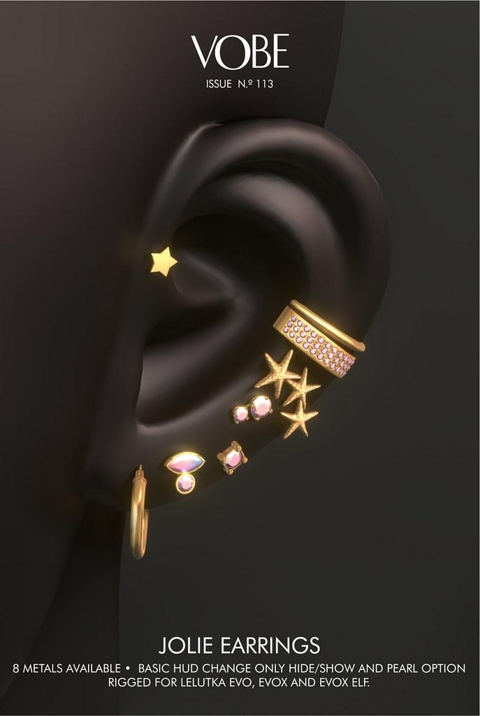 VOBE – Jolie Earrings @Tres Chic