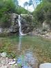 Sur le chemin du Carciara amont (HR22) : la cascade de Frassiccia (photo Olivier Hespel)