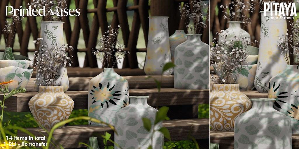 Pitaya – Printed Vases @ TLC