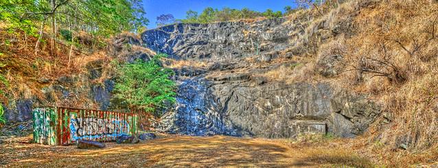 Mount Whitfield Climbing Quary - Oct 12, 2014
