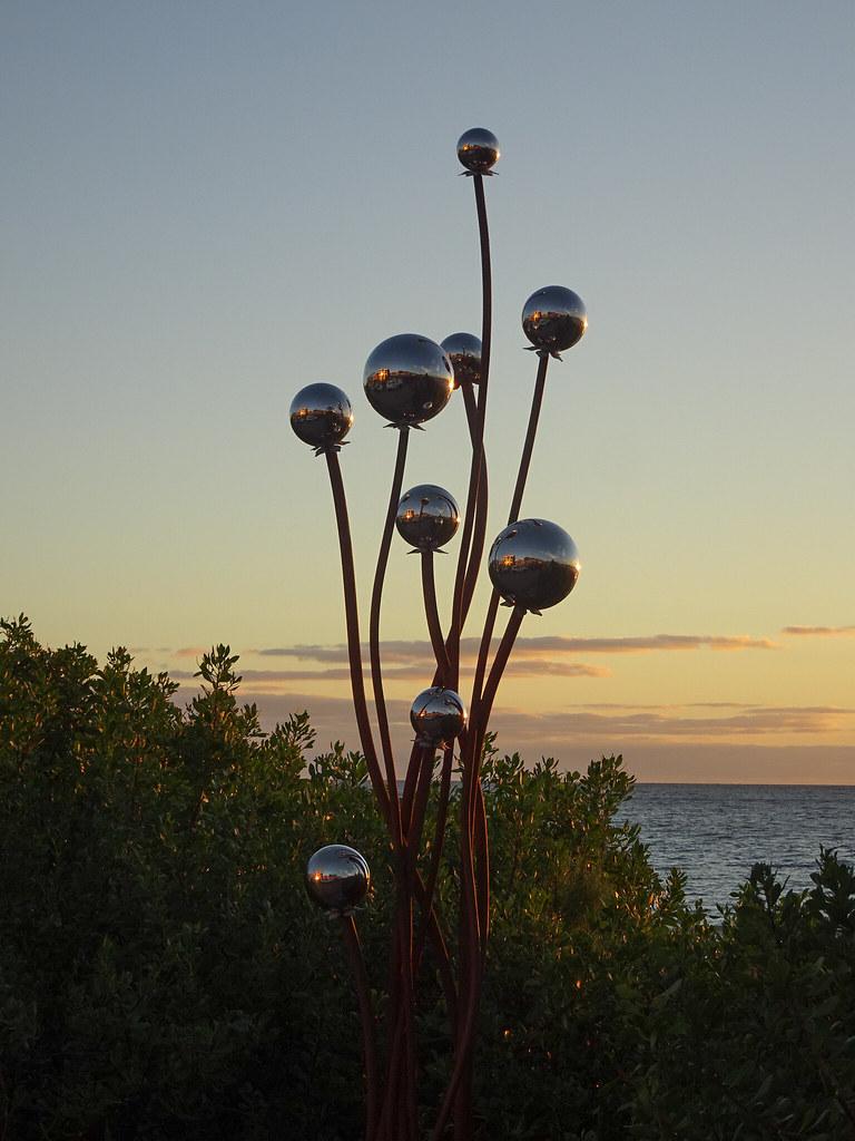 Balls on Wavy Poles