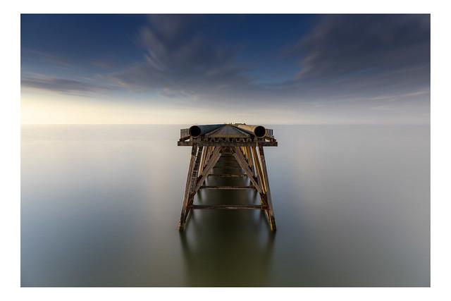 Top of Steetley Pier Long exposure
