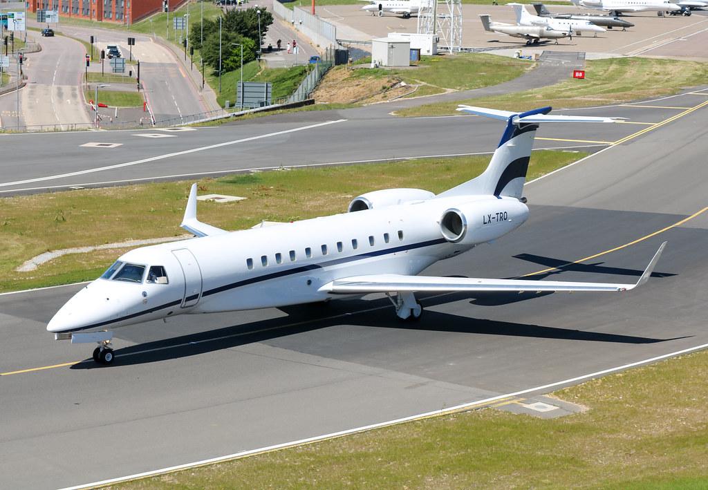 LX-TRO Embraer EMB-135BJ Legacy 650