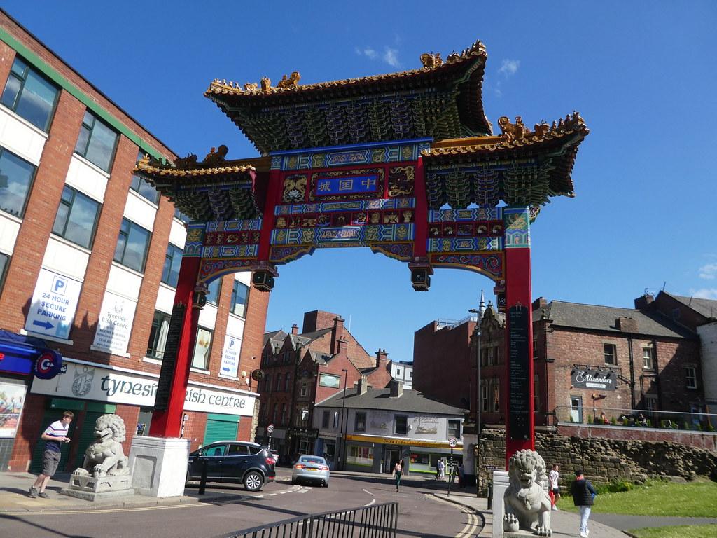 Chinatown Arch, Newcastle