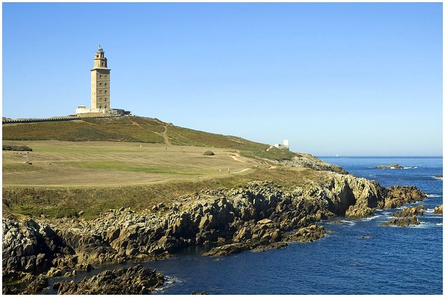 La tour d'Hercule - A Coruña  (In Explore)
