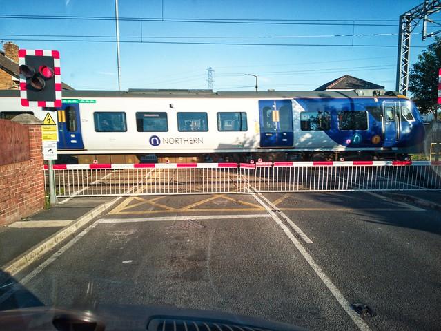 'Twas a 3 train wait
