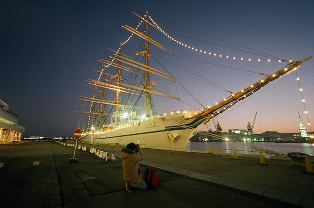 Kaiwo Maru and Nippon Maru