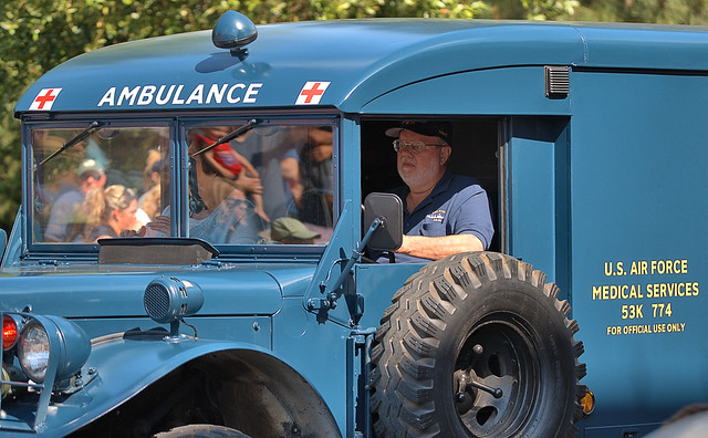 Old Air Force Ambulance