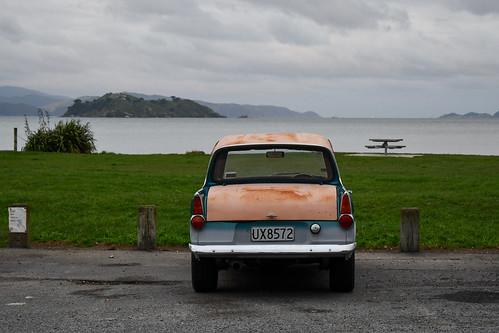 <p>1966 Ford Anglia</p>