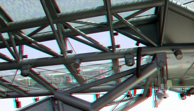 Luifel metro-station Nesselande Rotterdam 3D