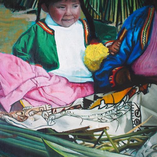La niña de las islas uros (2009)
