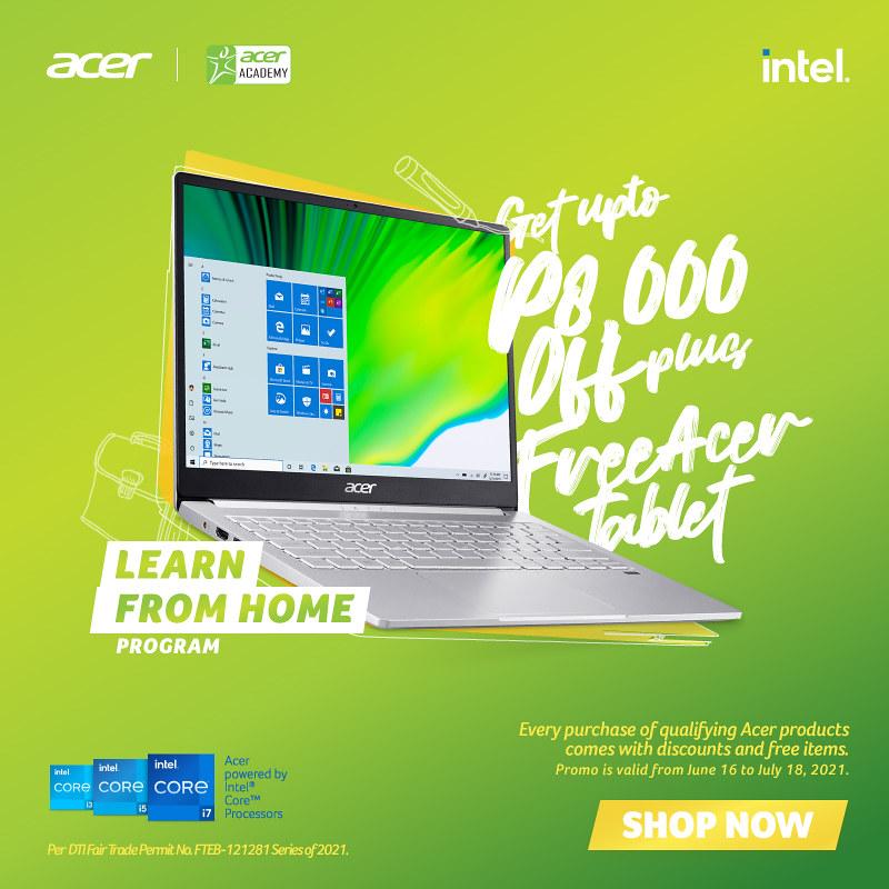 Acer Learn from Home Program_Swift