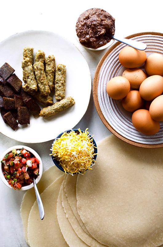 Make Ahead Grain-free Breakfast Burrito - Freezer-friendly, meal-prep
