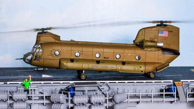 68-15846 | Boeing-Vertol CH-47C Chinook | United States Army | Corgi 1/72