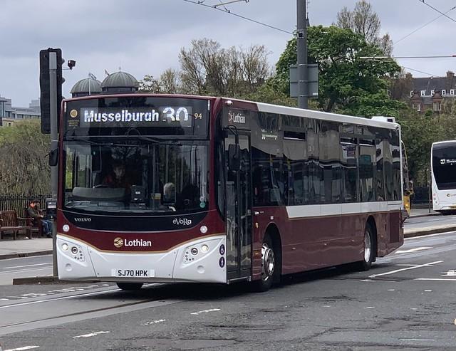 Lothian Buses 94 SJ70 HPK (27-05-2021)