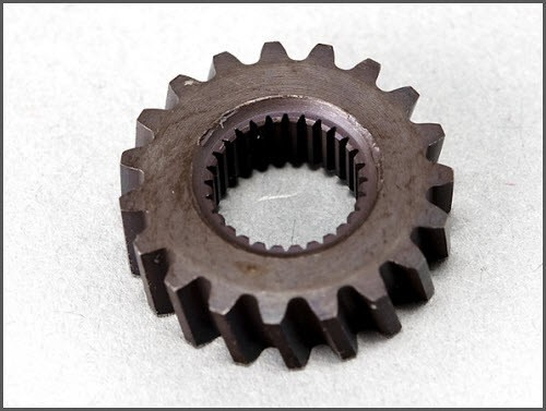 replacement gear for Roof E-Drive Motor Smart Roadster