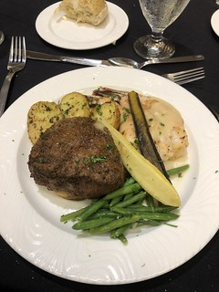 R&DA Banquet (Fillet Mignon, Grilled Shrimp, Roasted Potatoes & Asst. Veggies)