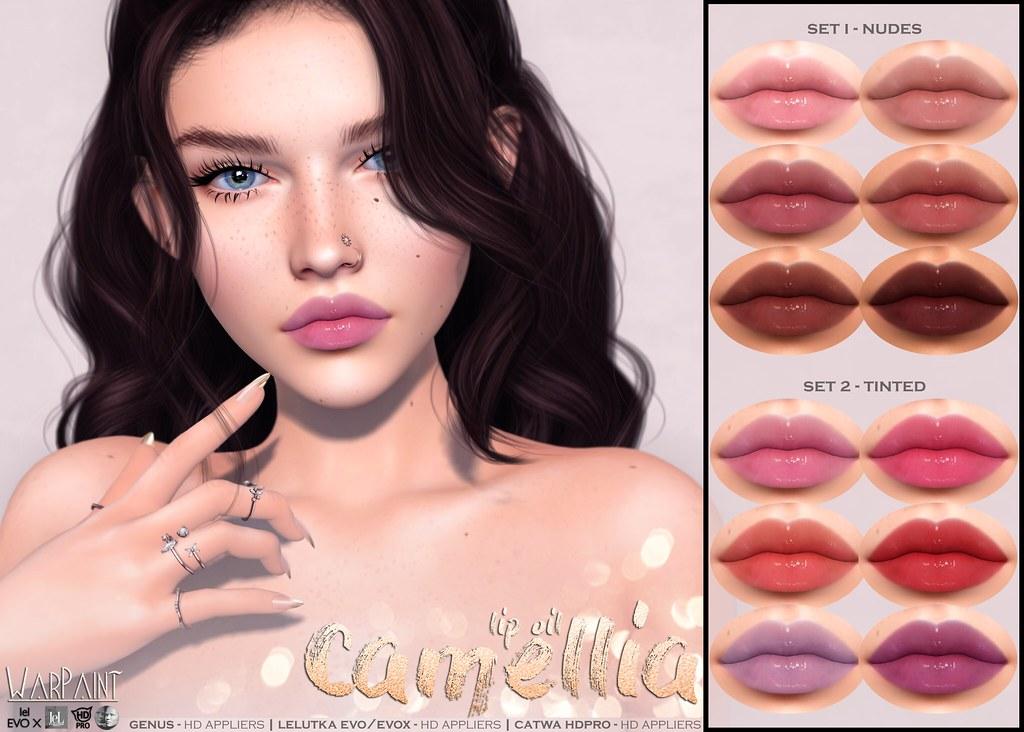 WarPaint* @ Summerfest '21 – Camellia lip oil