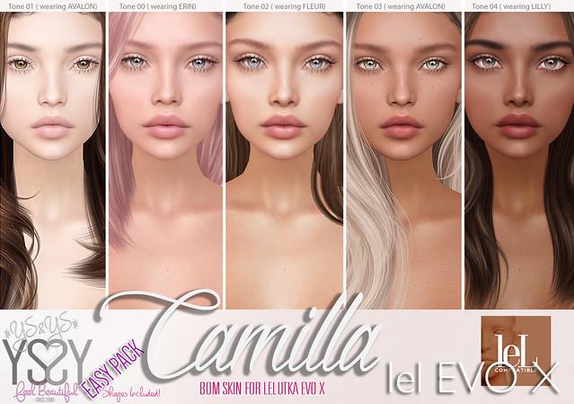*YS&YS* Camilla for Lelutka EvoX