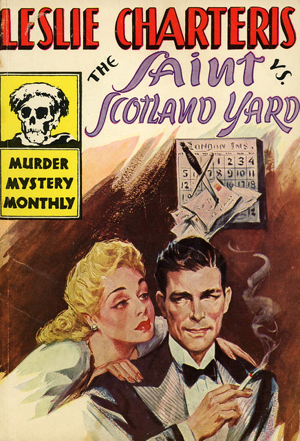 Avon Murder Mystery Monthly 32 - Leslie Charteris - The Saint vs Scotland Yard