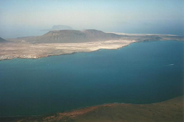 Isla La Graciosa desde el Mirador del Río - Lanzarote