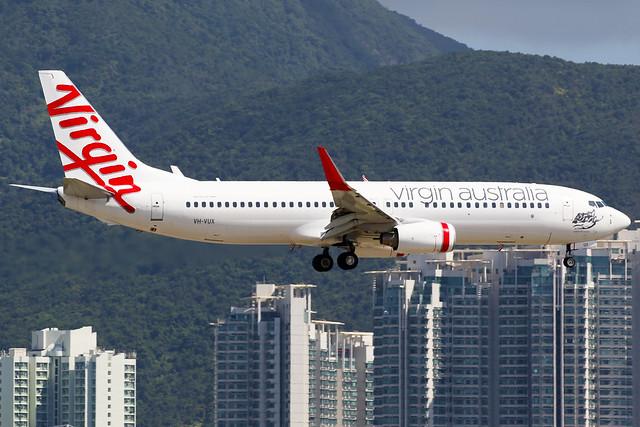 Virgin Australia | Boeing 737-800 | VH-VUX | Hong Kong International