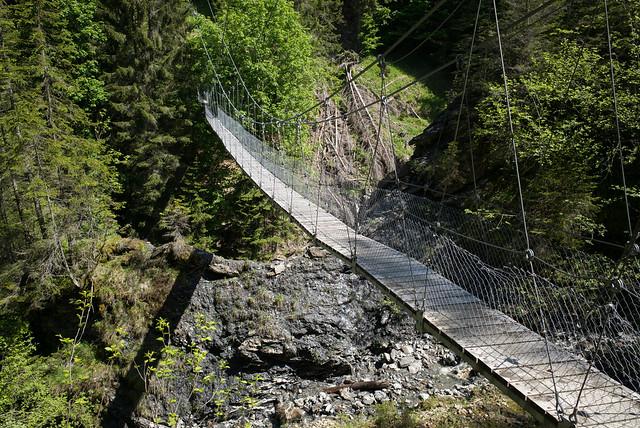 Chleibach Hängebrücke