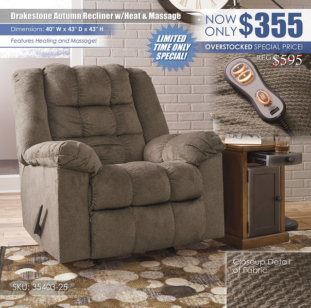 Drakeson Autumn Recliner with Heat and Massage_35403-25-T127-630