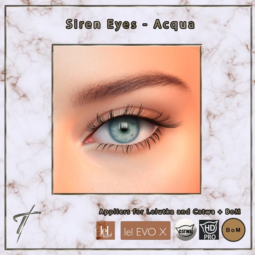 Tville – Siren Eyes *acqua*