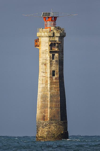 Portrait du phare de Nividic