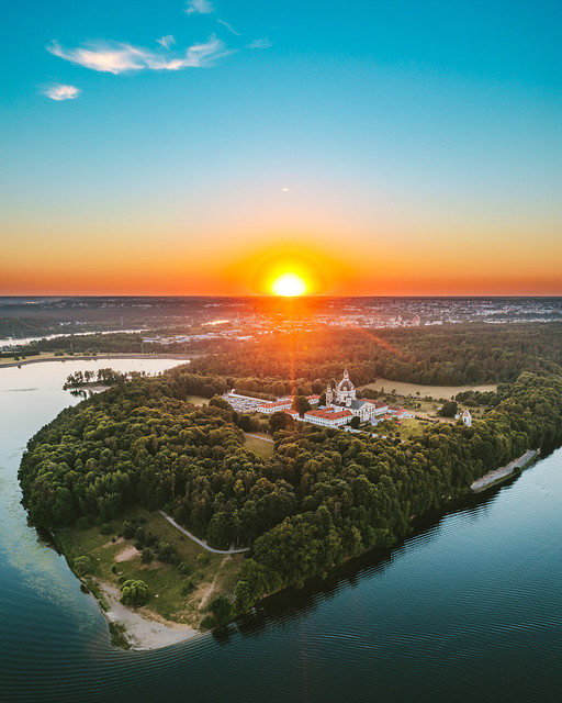Pažaislis Monastery | Kaunas aerial #169/365