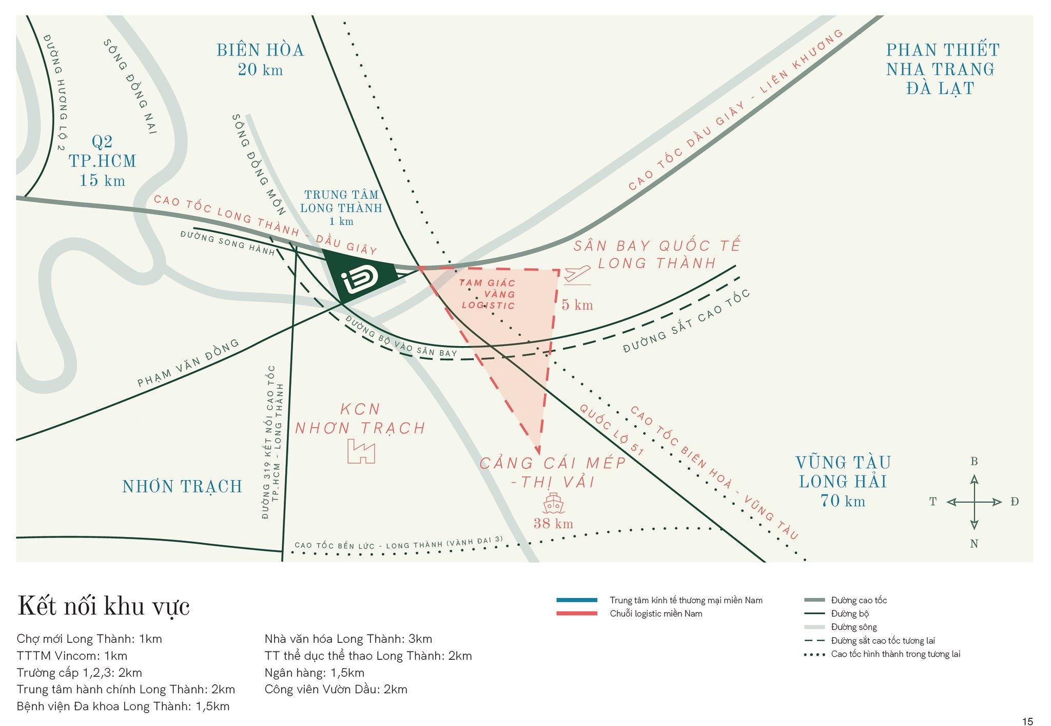 Vị trí tam giác vàng iD Junction