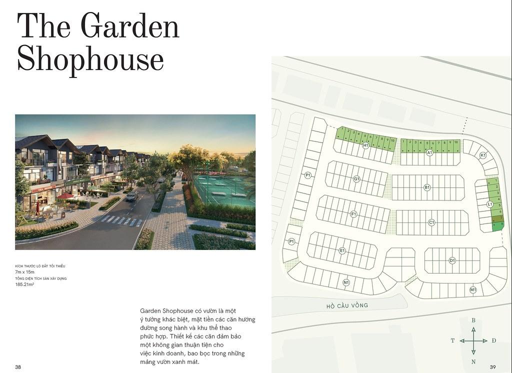 Mẫu nhà 5: Garden Shophouse