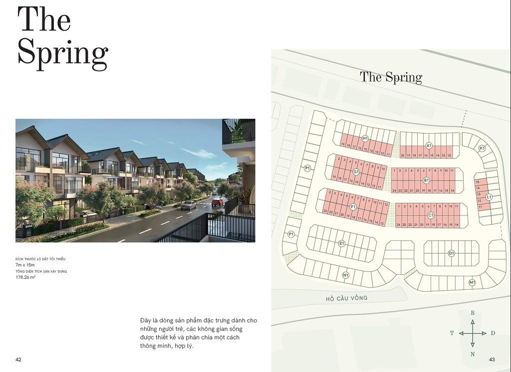 Mẫu nhà 1: The Spring