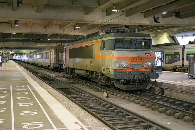 SNCF BB 7276 Paris Gare de Montparnasse