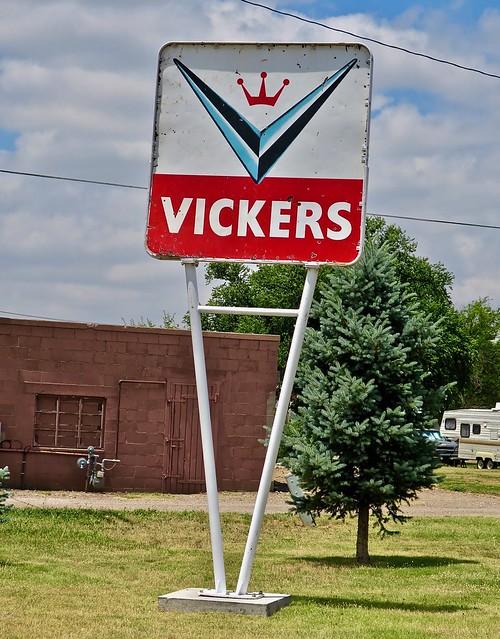 Vickers Petroleum Sign, Goodland, KS