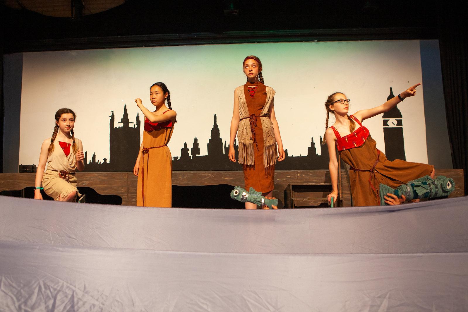 Drama at Royal High School Bath