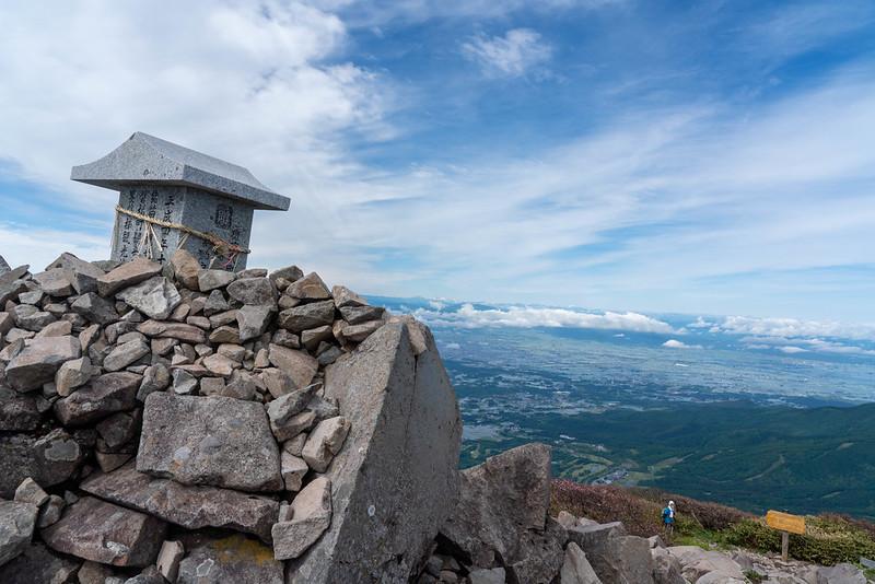 磐梯山の山頂