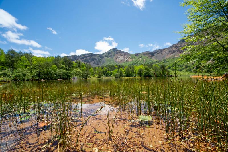 銅沼の磐梯山